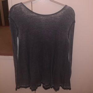 Free People Charcoal Thermal